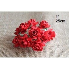 CC-30pc Cottage Red Roses