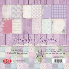 Craft and You Lavender Garden 12x12