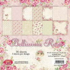 Craft and You Bellissima Rose 6x6