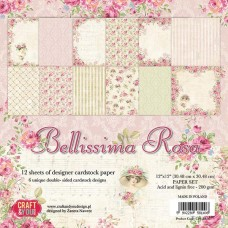 Craft and You Bellissima Rose 12x12