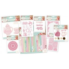 Sara Signature Collection - Vintage Tea Party - 8PC Bundle