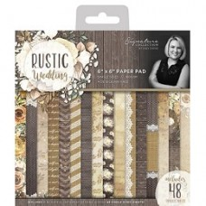 Sara Signature Rustic Wedding 6x6 Paper Pad (48 Sheets)