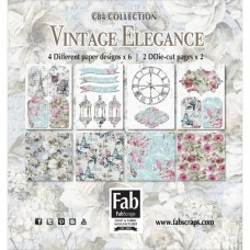 FabScraps Vintage Elegance Card Kit
