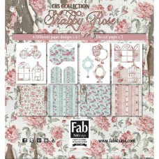 FabScraps Shabby Rose Card Kit