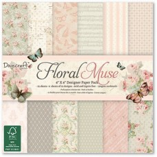 Dovecraft Floral Muse 6x6