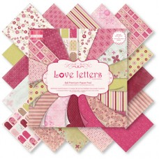 First Edition 8 x 8 Paper Pad - Love Letters