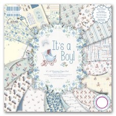 First Edition It's a Boy 8x 8 Papers