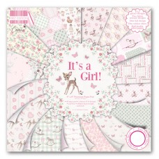 First Edition It's a Girl 8x 8 Papers