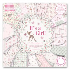 First Edition It's a Girl 6x 6 Papers