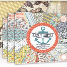 First Edition Sail Away 8x 8 Papers