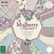 First Edition 12x12 Paper Pad Mulberry Kisses