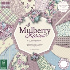First Edition 8x8 Paper Pad Mulberry Kisses
