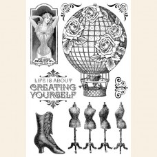 G45 Create Yourself - Clear Acrylic Stamps