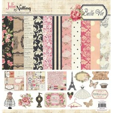 Julie Nutting Belle Via Collection Kit - 12x12 - Discontinued