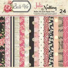 Julie Nutting Belle Vie 6x6 paper pad - Discountinued