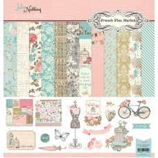 Julie Nutting French Flea Market Collection Kit - 12x12
