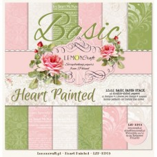 Lemoncraft Heart Painted Basic 12x12