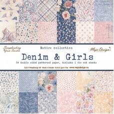 Maja Design denim & Girls - Paper Pack 12x12