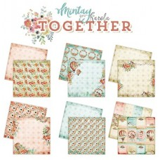 Mintay Together Collection Set of 6 - 12x12 paper pad