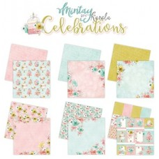 Mintay Celebrations Collection Set of 6 - 12x12 paper pad