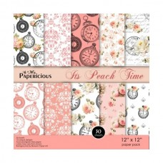 Papericious It's Peach Time 12X12