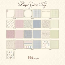 Pion Design - Complete collection - Days Gone By  12X12