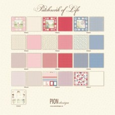 Pion Design - Complete collection - Patchwork of Life  12X12