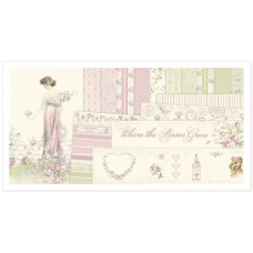 Pion Design - Where the Roses Grow 12x12 - NEW!