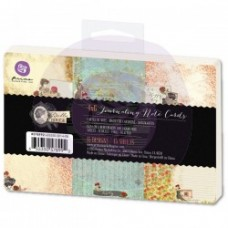 Prima 4X6 Journaling Pad - Bella Rouge