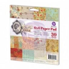 Prima 6x6 Paper Pad-Bella Rouge