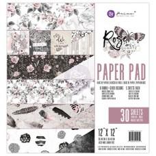 Prima Rose Quartz 12X12 Paper Pad
