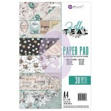 Prima Zella Teal - A4 Paper Pad