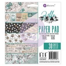 Prima Zella Teal - 6x6 Paper Pad