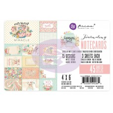 Prima Heaven Sent 2 - 4X6 Journaling Cards