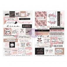 Prima Amelia Rose - Word & Quote Stickers