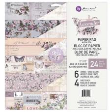 Prima Lavender -- 12x12 Paper Pad