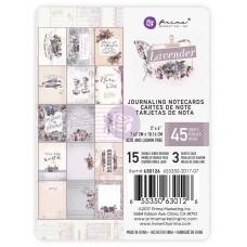 Prima Lavender - 3x4 Journaling Card