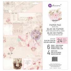 Prima Love Story - 12x12 Paper Pad