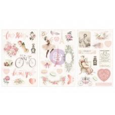 Prima Love Story - Chipboard Stickers