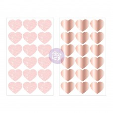 Prima Love Story - Heart Stickers