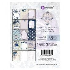 Prima Georgia Blues 3X4 Journaling Cards