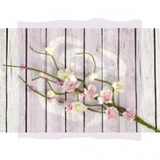 Prima Fairy Rhymes Solid Flower Vine - Light Pink - 3pc per pkg