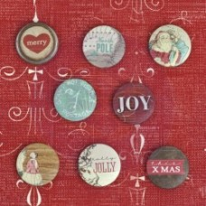 Holiday Jubilee-FLAIR BUTTONS
