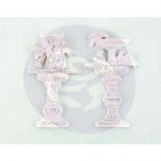 Prima Resin Garden Fountain Shabby Chic Treasures