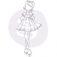 Prima Julie Nutting - 3.5 x 8 Cling Stamp - Candie