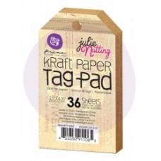 Prima 2.5 x 4.25 Kraft Tag Pad