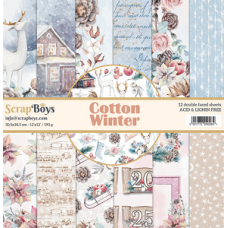 ScrapBoys Cotton Winter 12x12