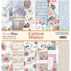 ScrapBoys Cotton Winter 6x6
