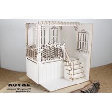 Scrapiniec Balkon Royal 3D model