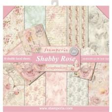 Stamperia 12x12 Shabby Rose